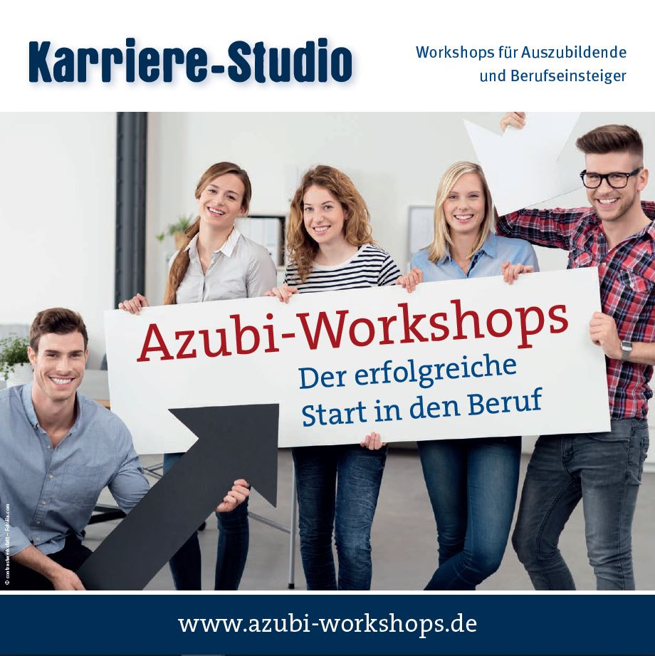 Flyer Azubi-Workshops